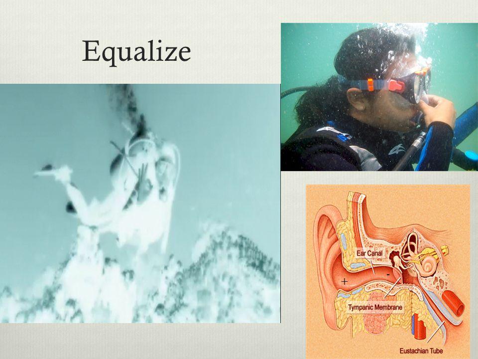 Equalize + -