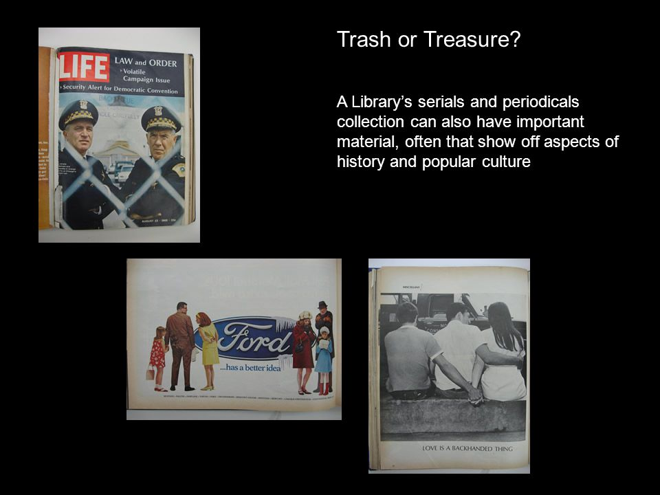 Trash or Treasure.