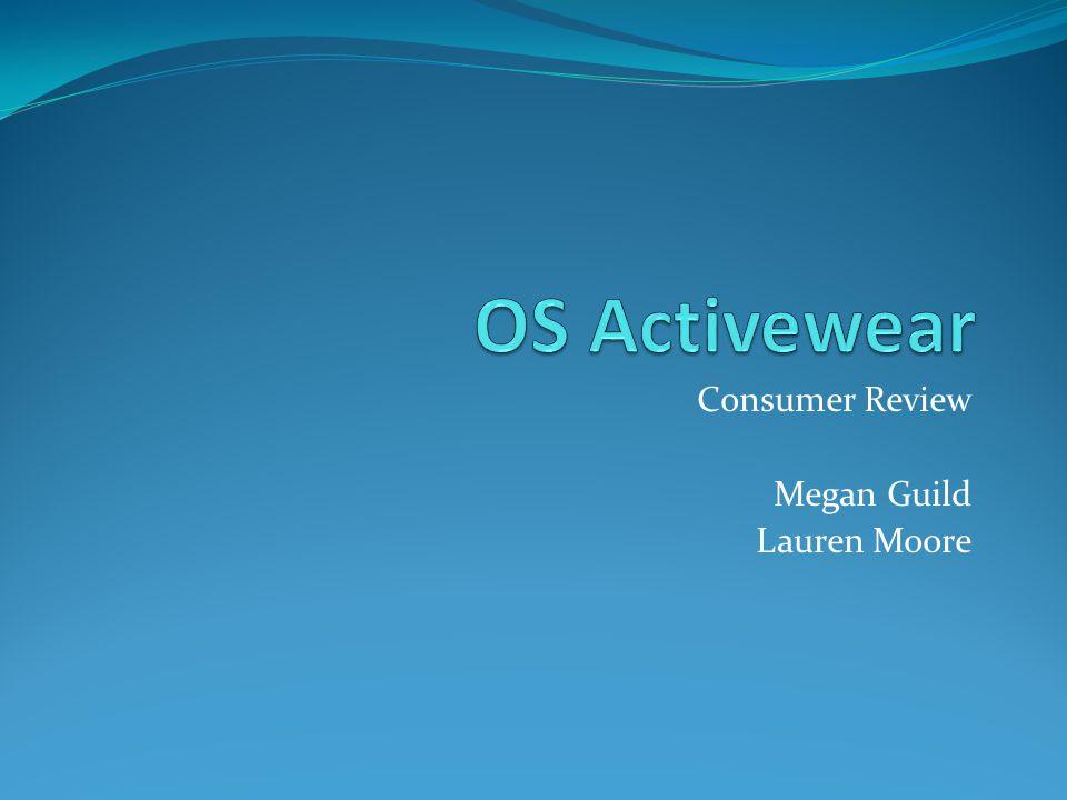 Consumer Review Megan Guild Lauren Moore