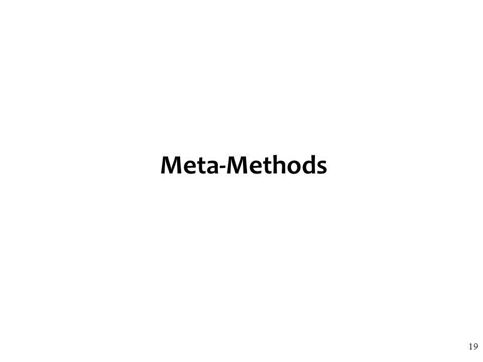 Meta-Methods 19
