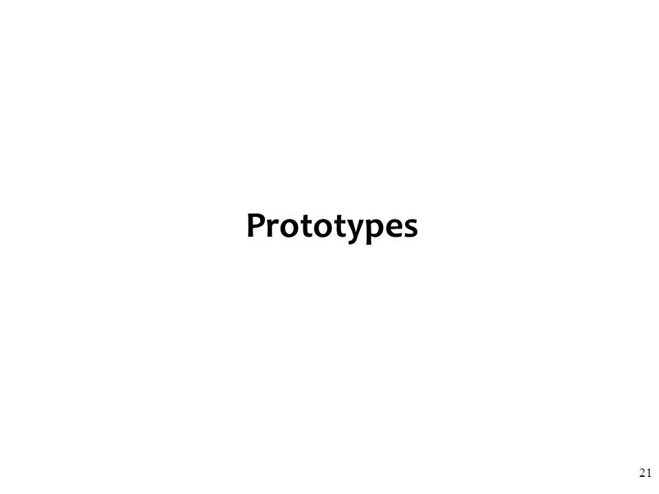 Prototypes 21