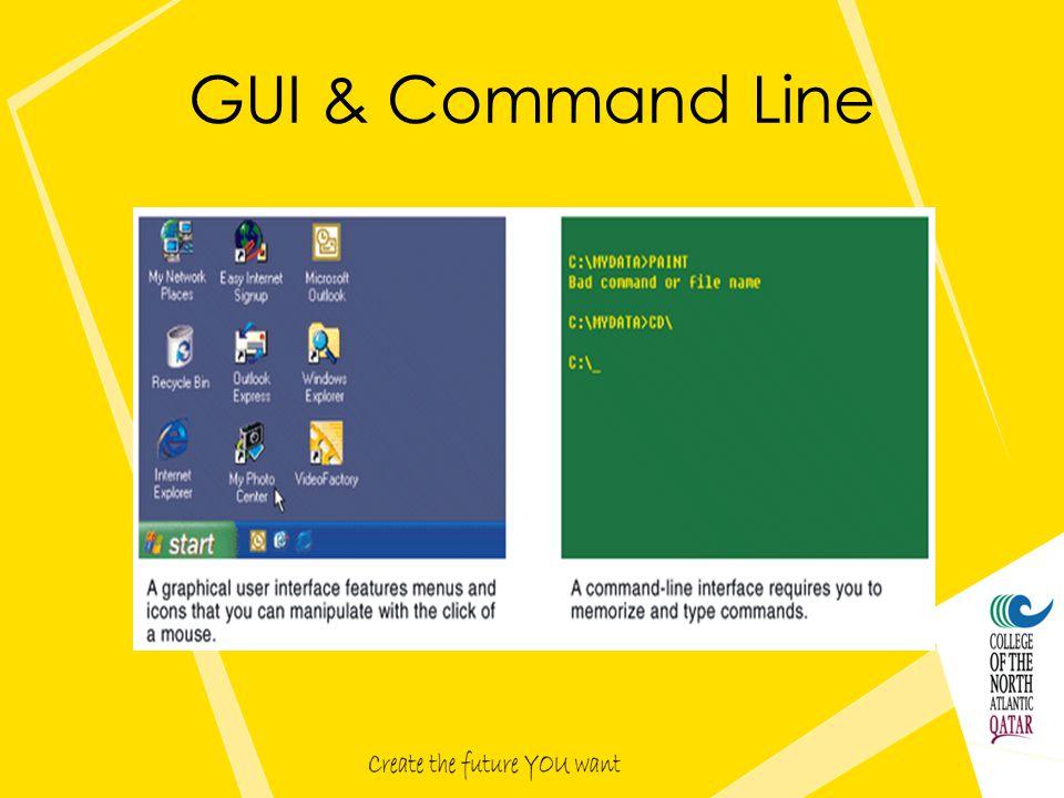 GUI & Command Line