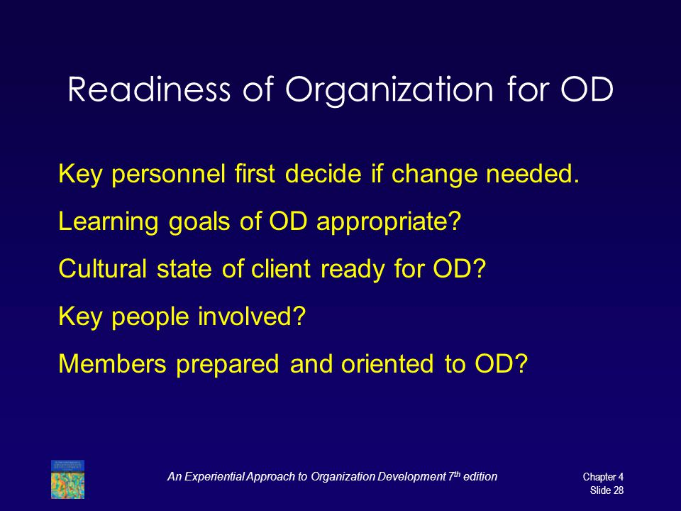 brown d r 2011 an experiential approach to organizational development overcoming resistance to chang Alexandriaabstract pena organizational development orgl 4342 bv1-organizational applying and explaining o.