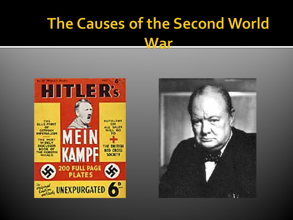  Allies and Axis  Theaters of War  Weimar Republic  Treaty of Versailles  League of Nations  The Great Depression  Anchluss  Rhineland  Re-armament  Manchurian Incident  Anti-Comintern Pact  Appeasement  Neville Chamberlain  Winston Churchill  Nazi-Soviet Pact  Munich Pact  Sudetenland  Invasion of Poland