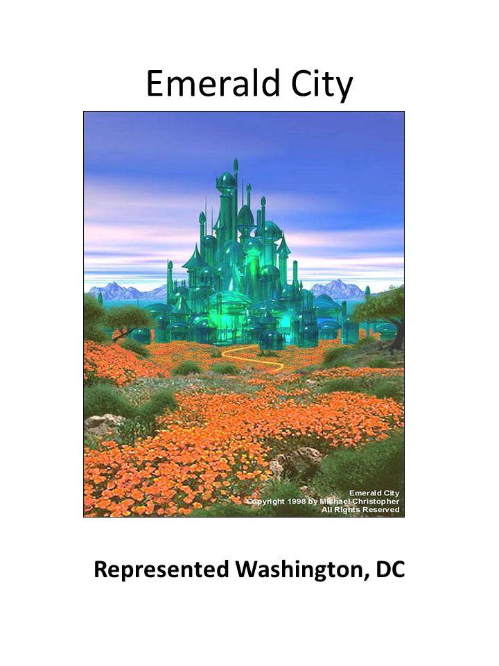 Emerald City Represented Washington, DC
