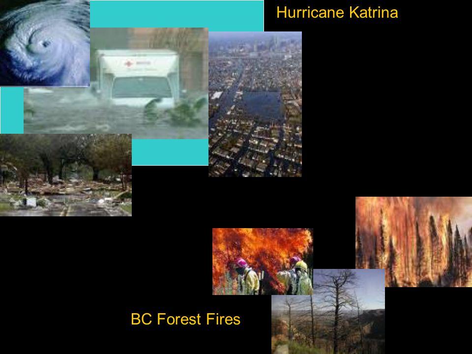Hurricane Katrina BC Forest Fires