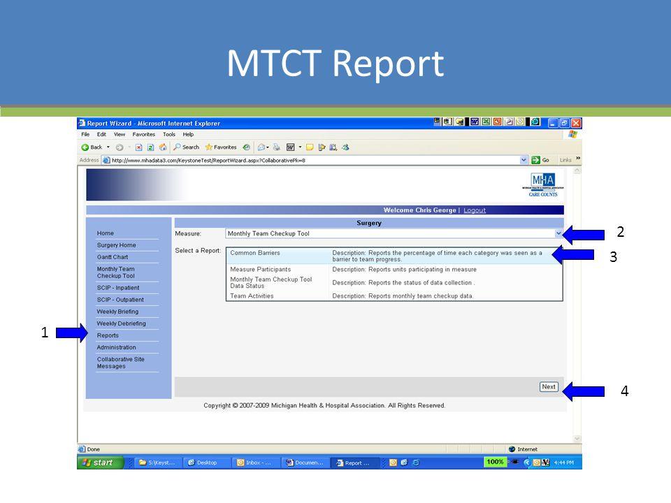 MTCT Report 1 2 3 4