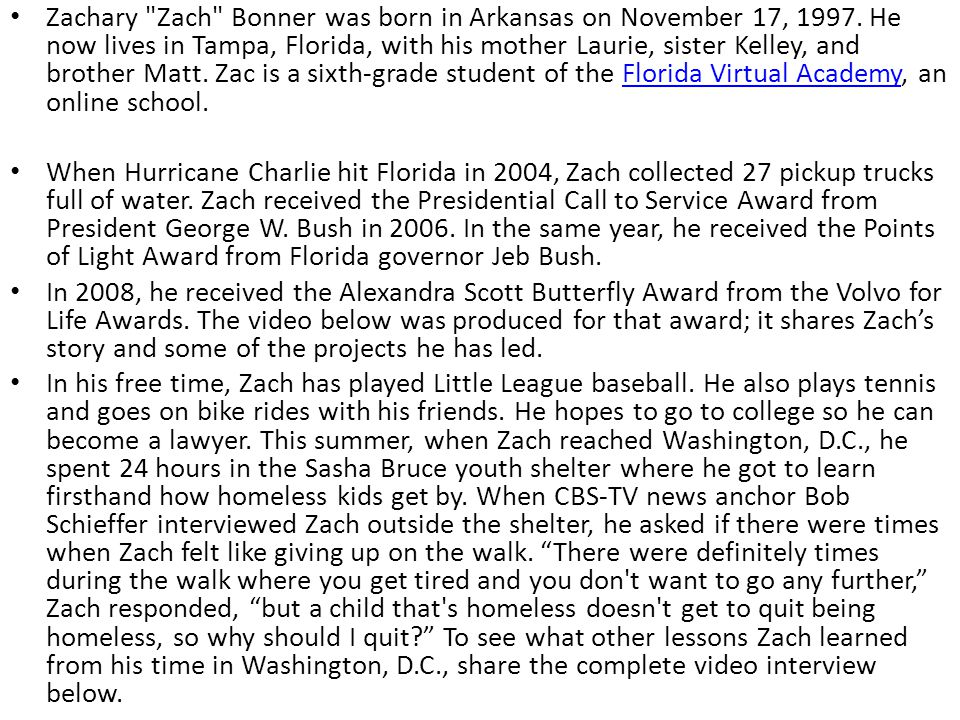Zachary Zach Bonner was born in Arkansas on November 17, 1997.