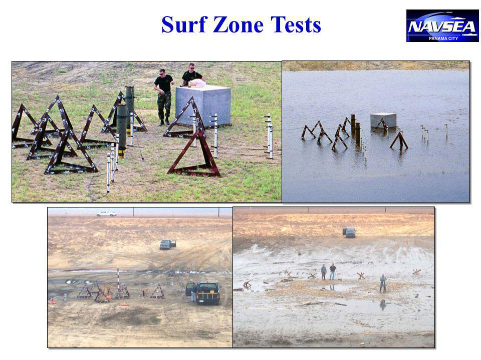Surf Zone Tests