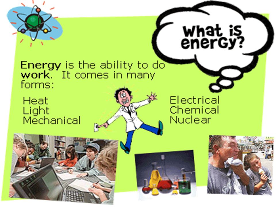 What is energy slide