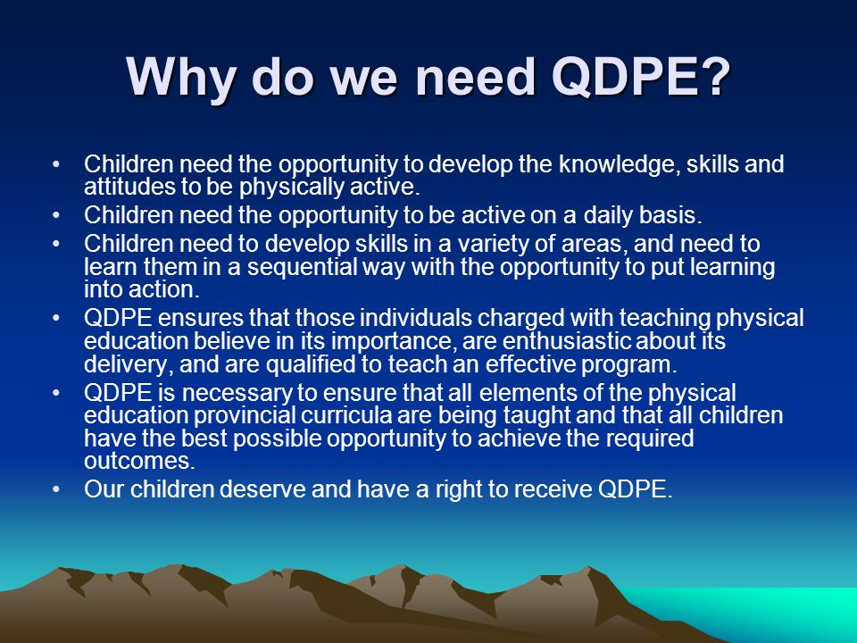 What are the benefits of QDPE.