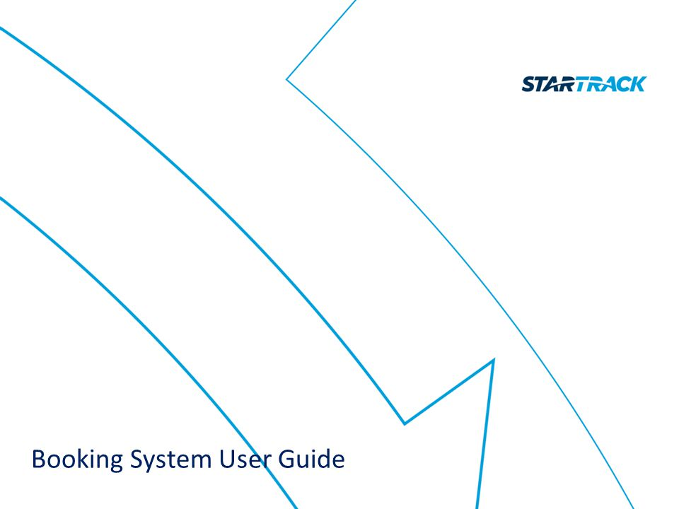 Booking System User Guide