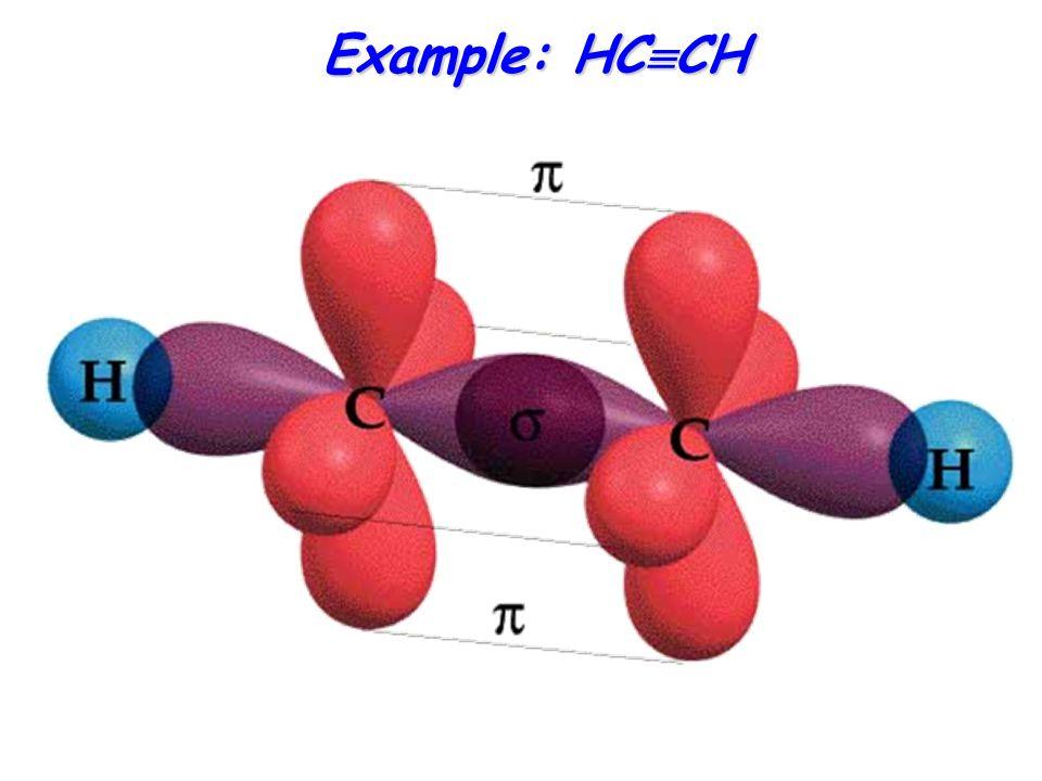 Example: HC  CH
