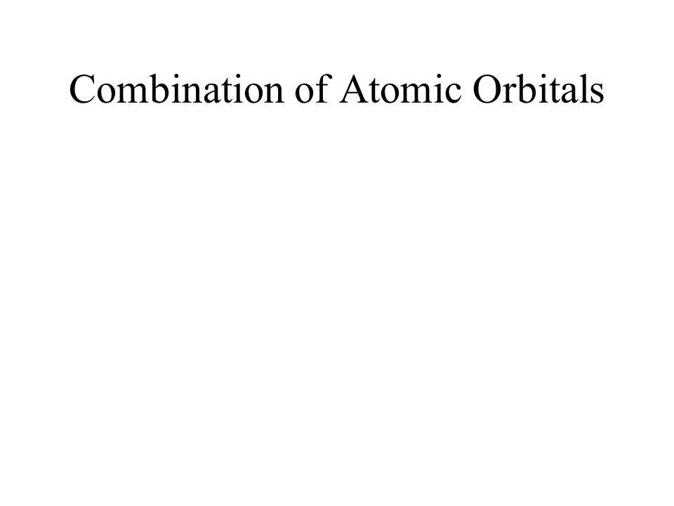 Combination of Atomic Orbitals