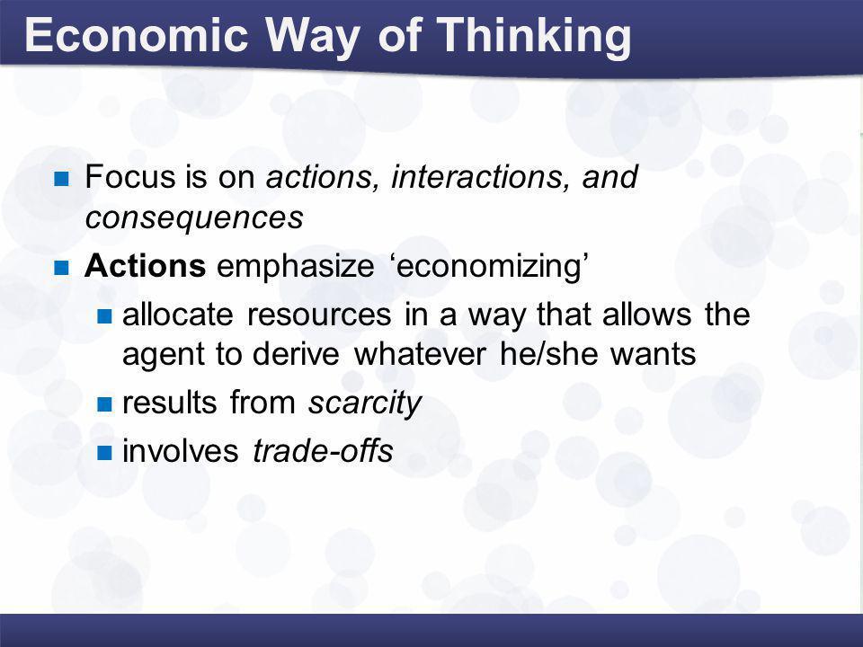 Positive Economics Versus Normative Economics