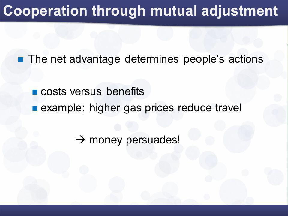Every decision has …  opportunity benefits  opportunity costs  hidden costs