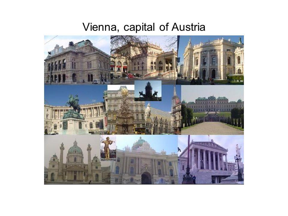 Vienna, capital of Austria