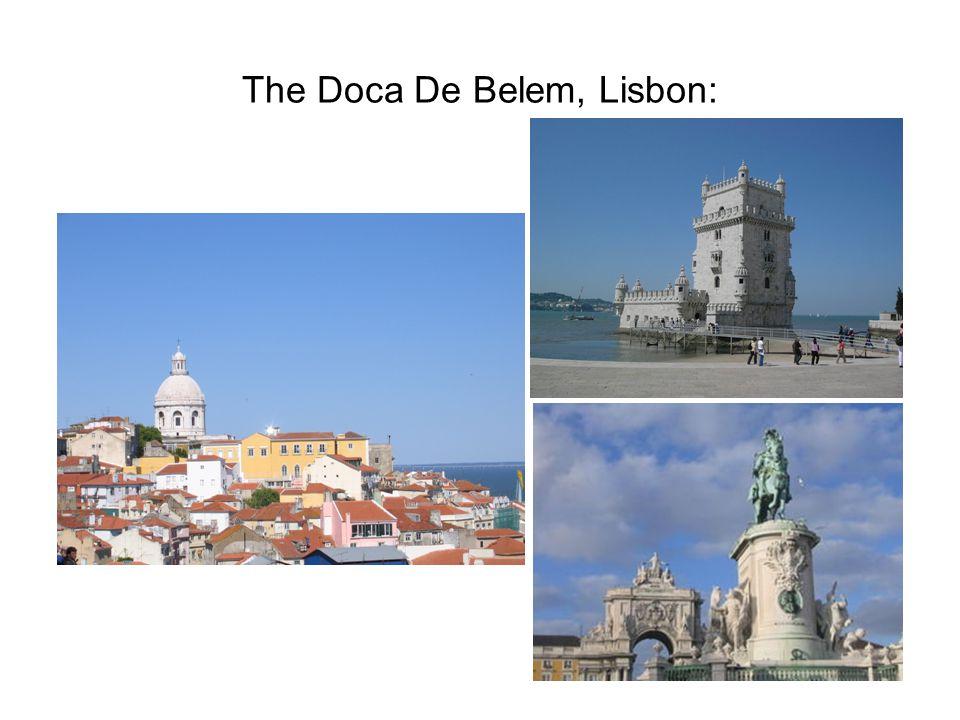 The Doca De Belem, Lisbon:
