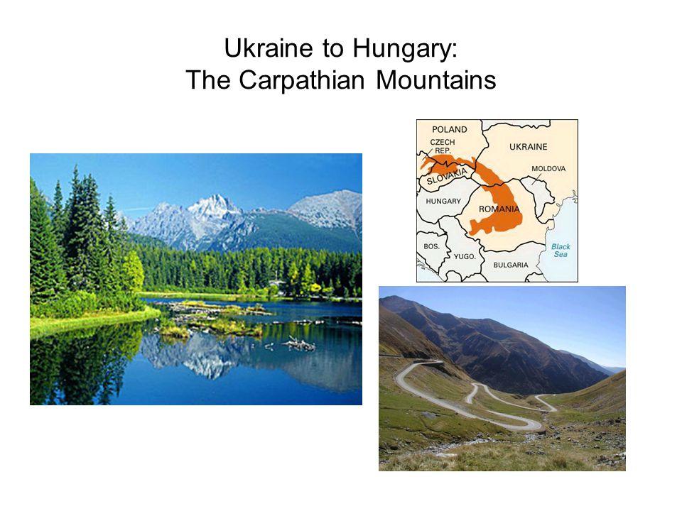 Ukraine to Hungary: The Carpathian Mountains