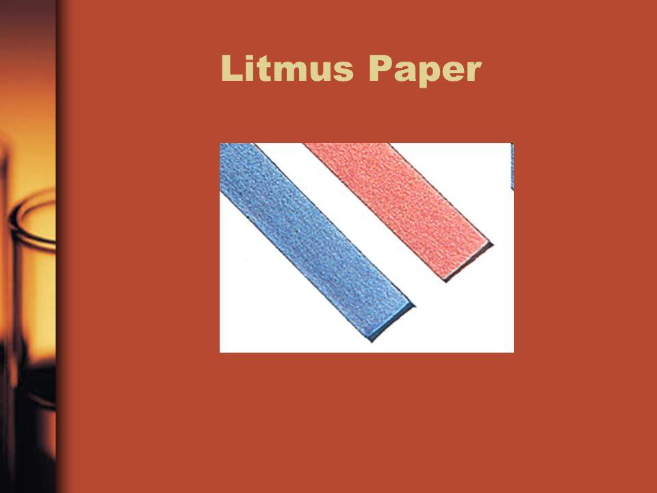 Litmus Paper