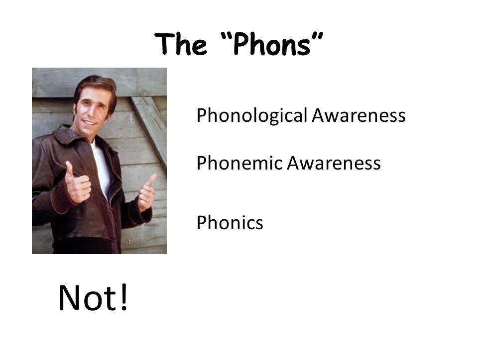 Why Phonemic Awareness.