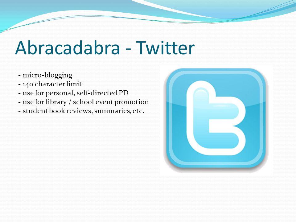 Twitter example
