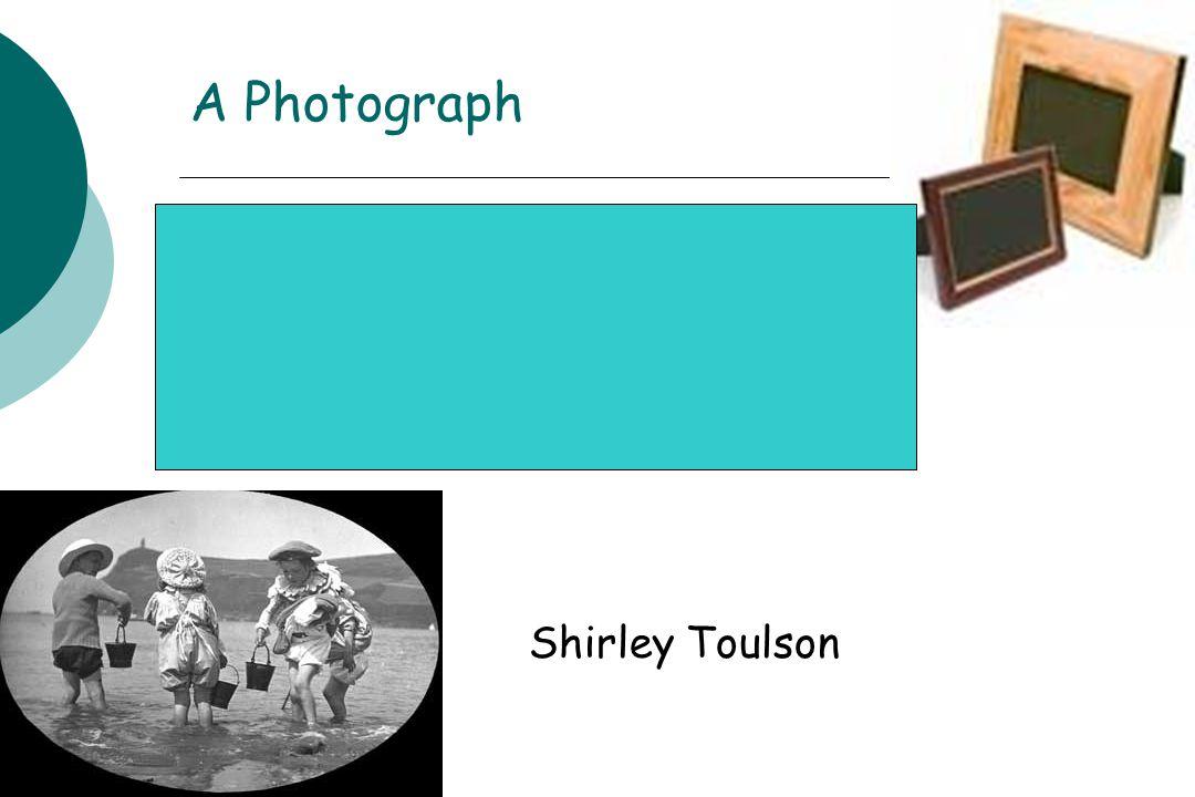 A Photograph Shirley Toulson