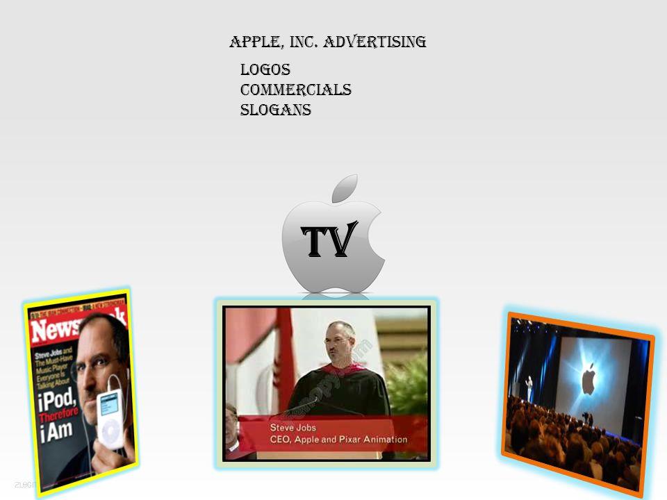 Apple, Inc. Advertising TV Logos Commercials Slogans
