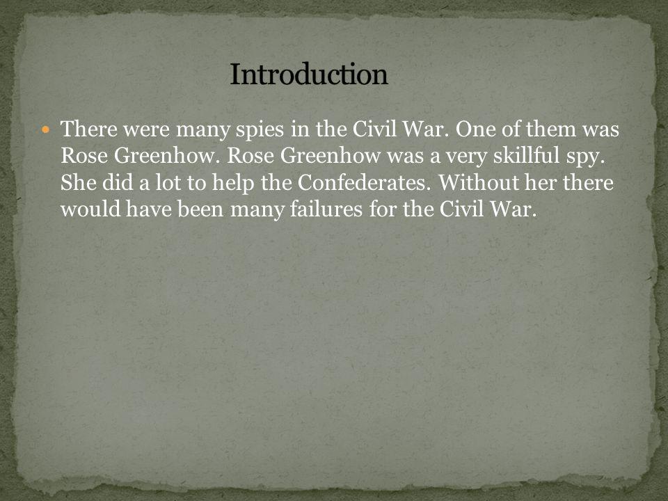 Rose Greenhow's friend, John C.