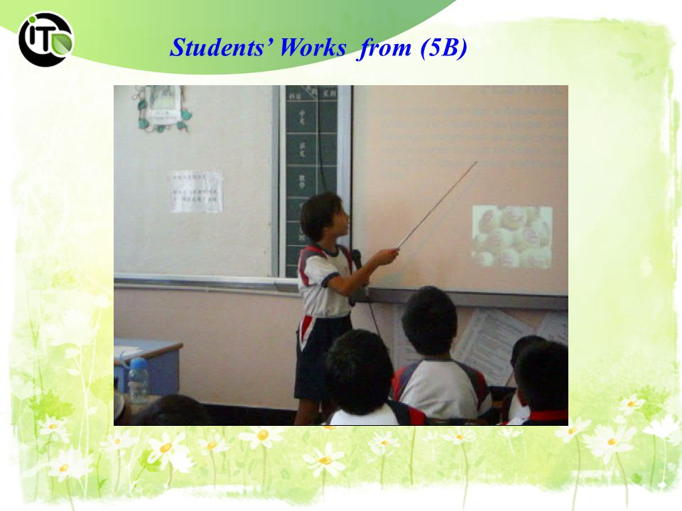 Students' Works from (5B)
