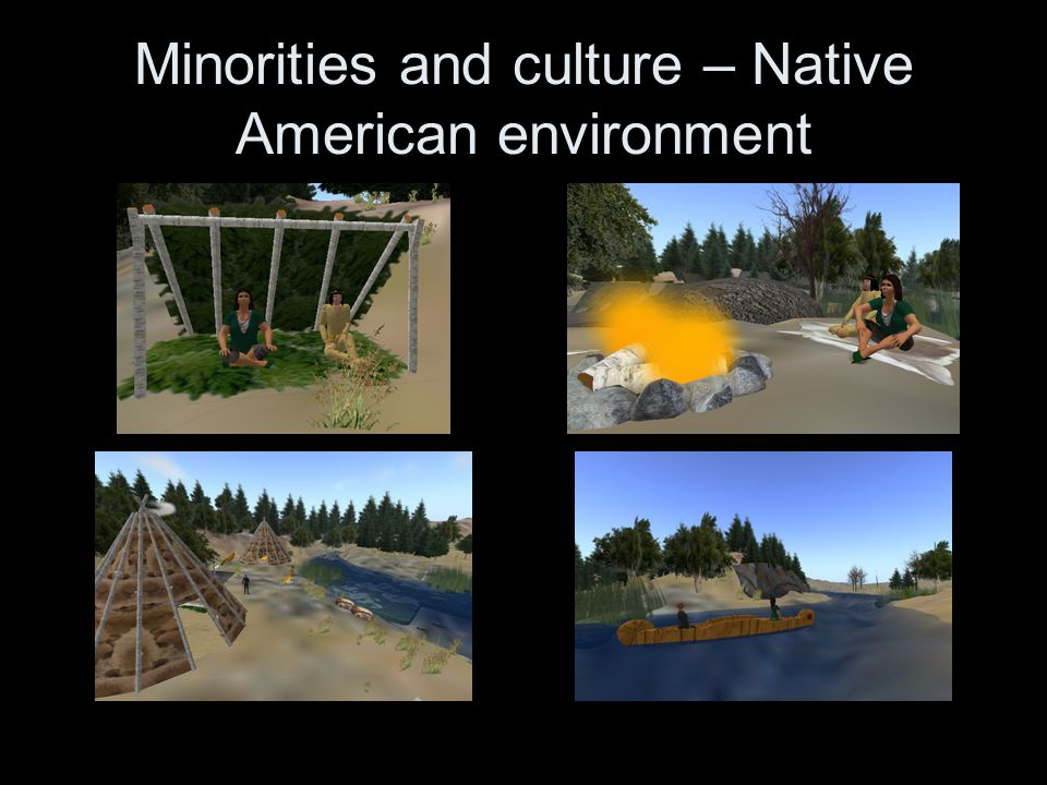Minorities and culture – Native American environment