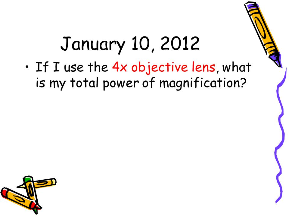 January 26, 2012 What are at least three things you need to remember when making a graph?