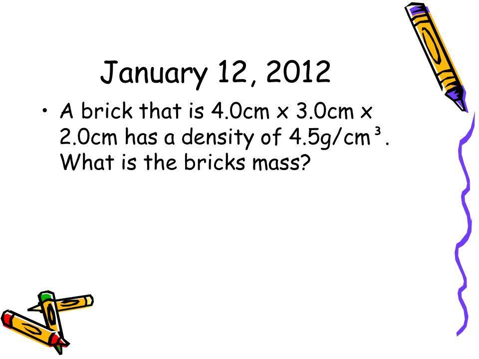 November 28, 2011 Think of Newton's three Laws of Motion.
