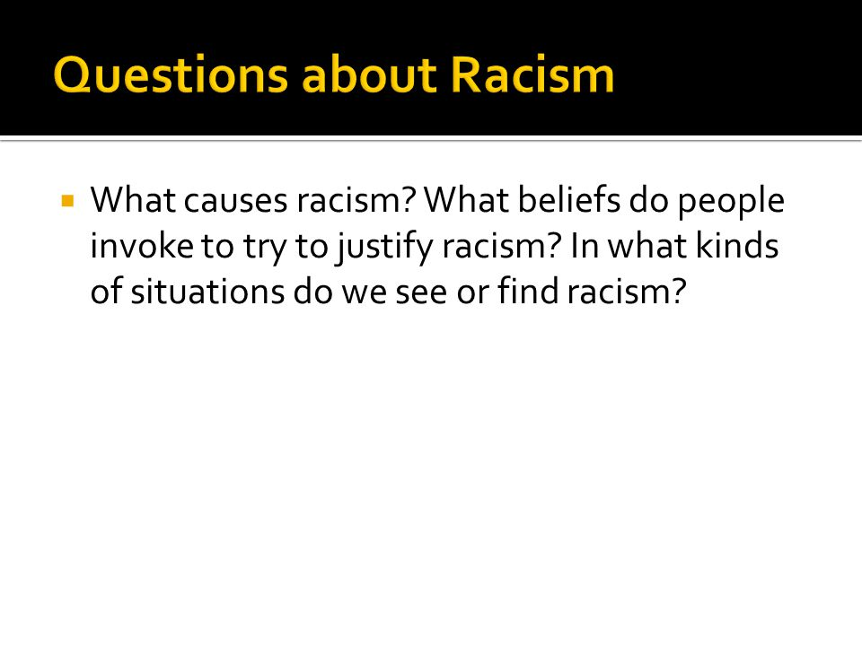  When did you first recognize your own racial, ethnic, religious (or other) identity.