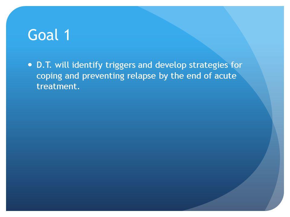 Goal 1 D.T.