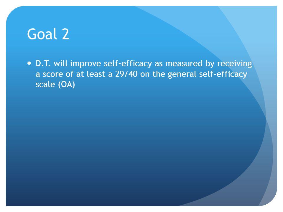 Goal 2 D.T.