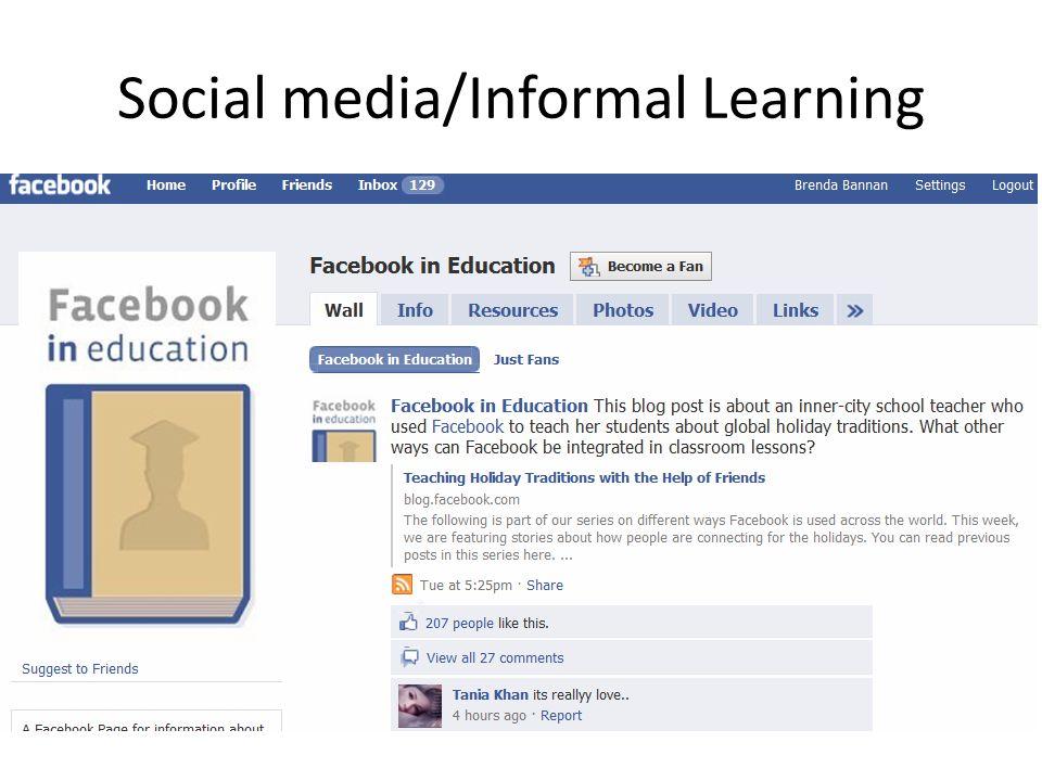 Social media/Informal Learning