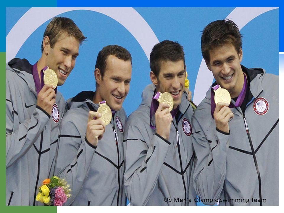 19 US Men's Olympic Swimming Team