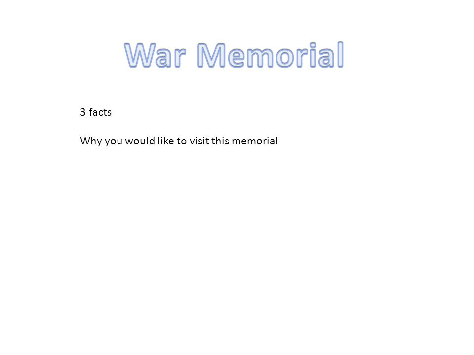 3 facts Why you would like to visit this memorial