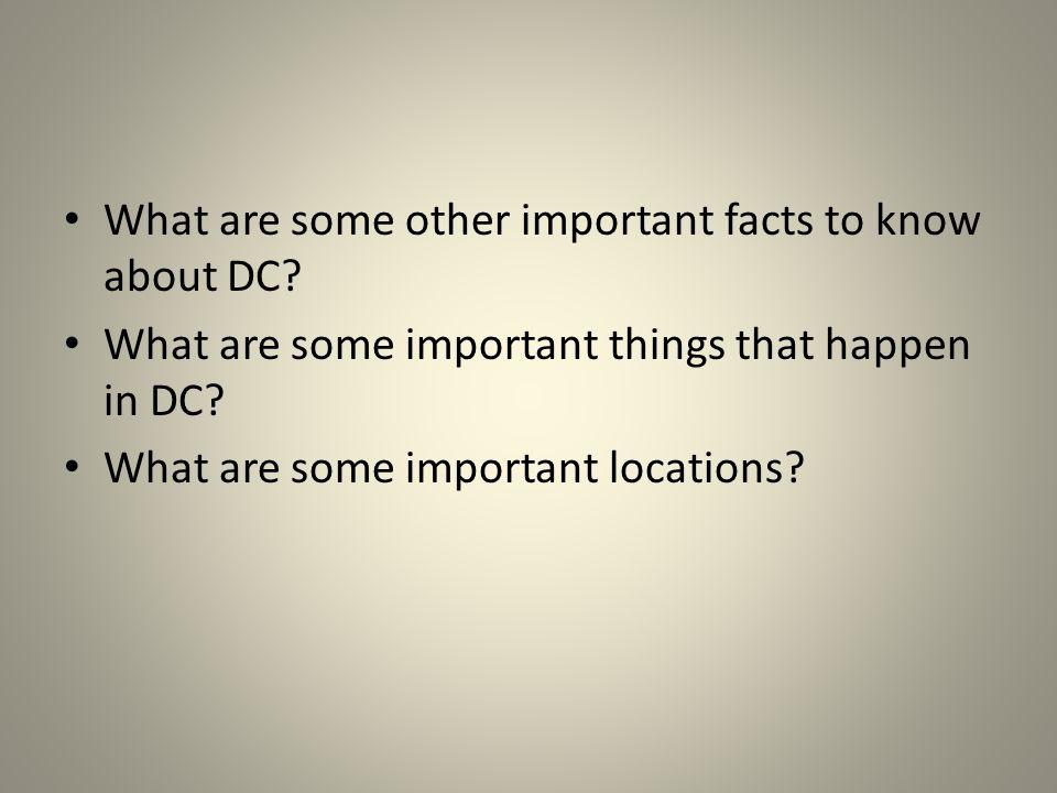 The Mayor of DC