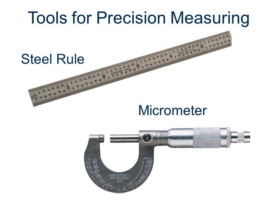 Steel Rule Micrometer Tools for Precision Measuring