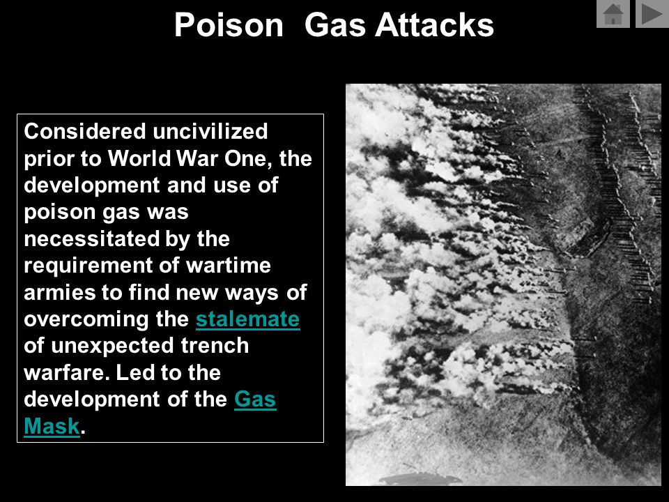 Casualties From Gas - The Numbers Country Total CasualtiesDeath Austria-Hungary100,0003,000 British Empire188,7068,109 France190,0008,000 Germany200,0