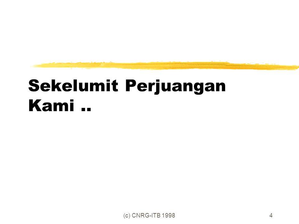 (c) CNRG-ITB 19984 Sekelumit Perjuangan Kami..
