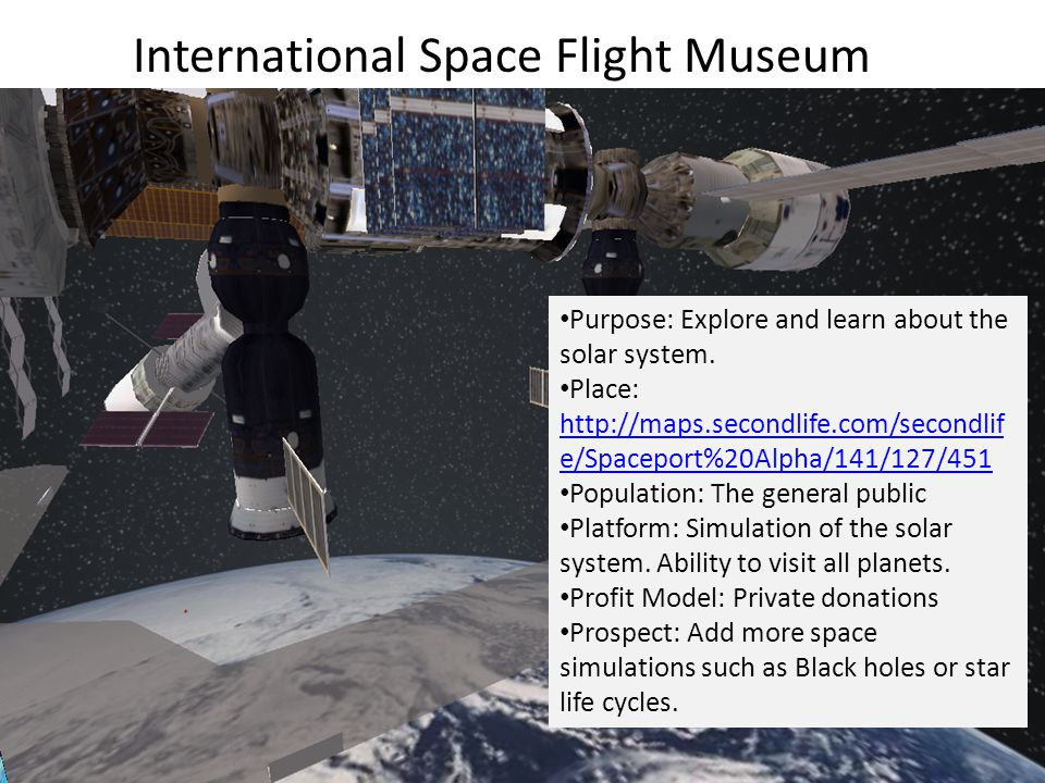 Purpose: Explore and learn about the solar system.