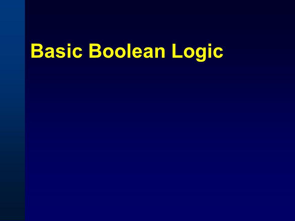 Basic Boolean Logic