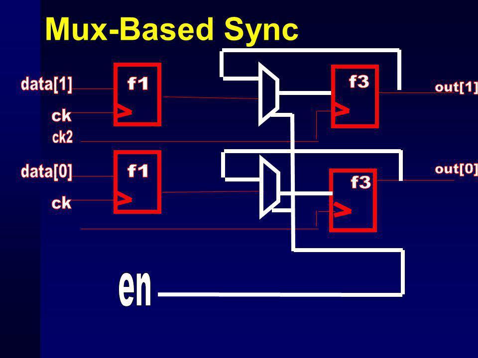 Mux-Based Sync