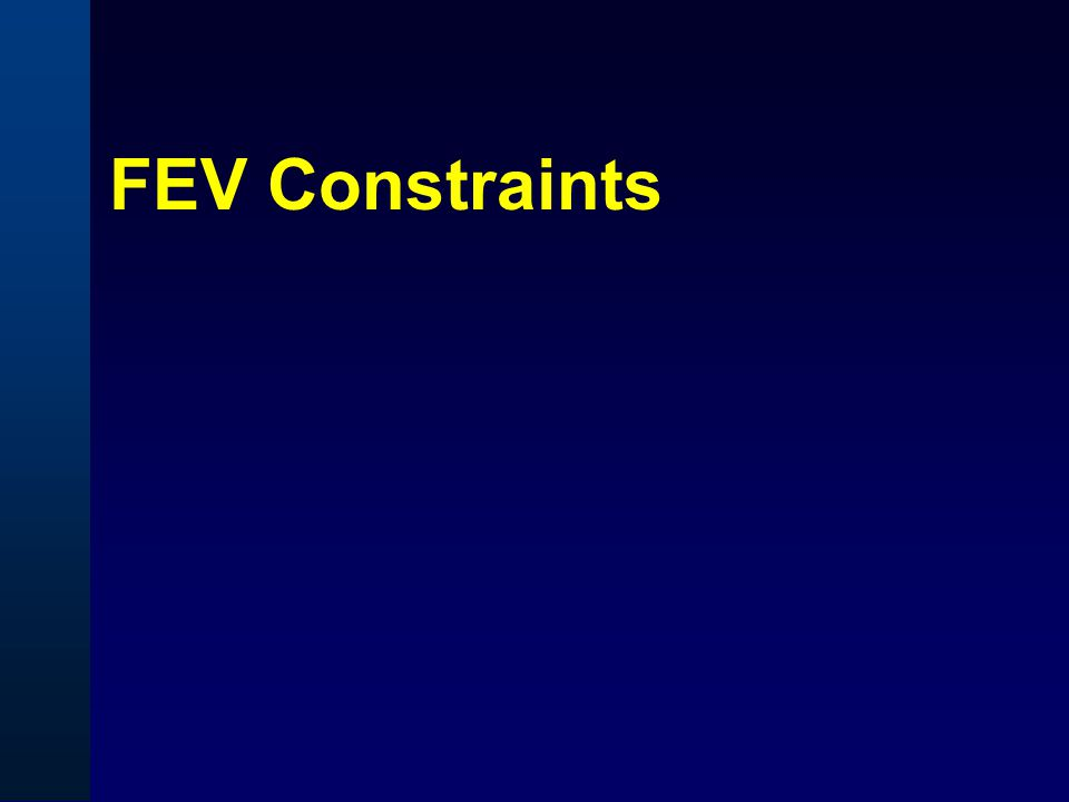 FEV Constraints