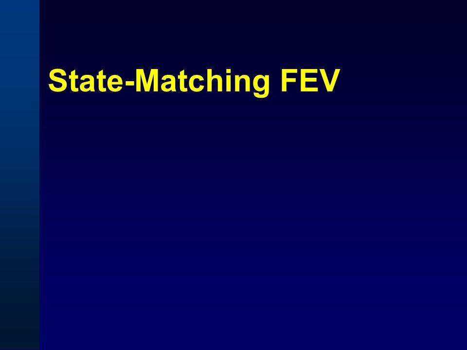 State-Matching FEV
