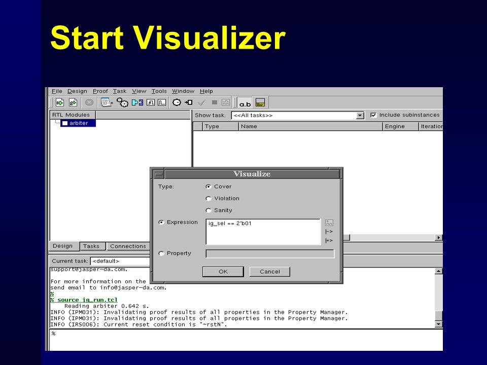 Start Visualizer