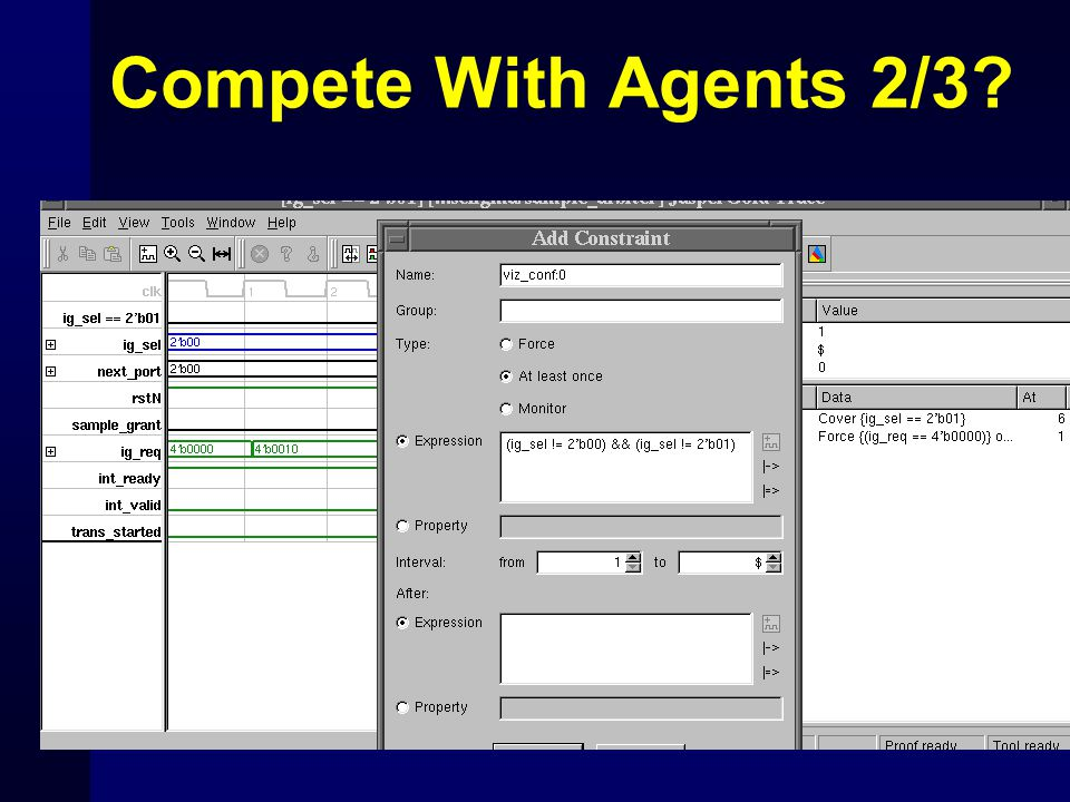 Compete With Agents 2/3?